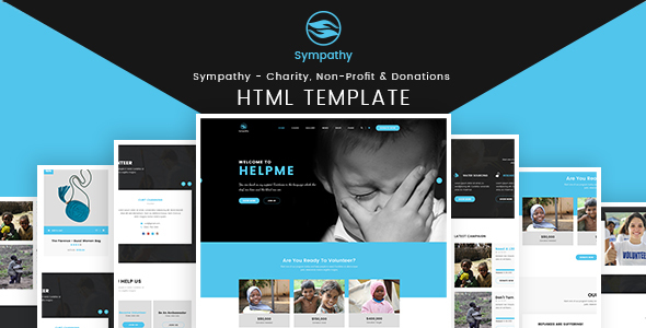 Sympathy – Charity, Non-Profit & Donations – HTML Template