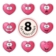 Heart Vector Smiley - GraphicRiver Item for Sale