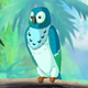 Blue Parrot in a Jungle - VideoHive Item for Sale