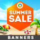 Summer Sale Banners - Image Included