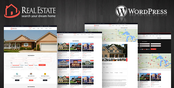 Image of Real Estate Wordpress Theme