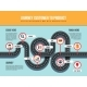 Journey Customer To Product Vector Infographic Map - GraphicRiver Item for Sale