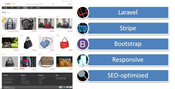 Yumefave | Laravel eCommerce Online Shop with Stripe - CodeCanyon Item for Sale