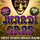 Mardi Gras Flyer Template V2 - GraphicRiver Item for Sale