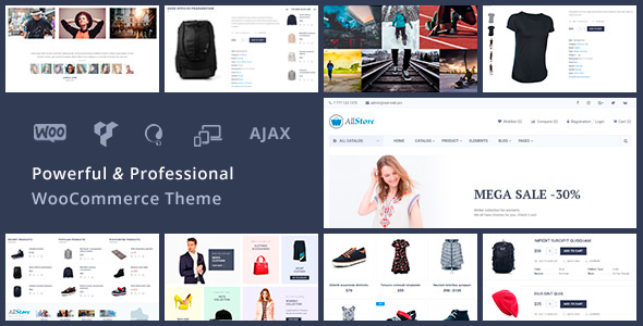 AllStore – Universal WooCommerce WordPress Shop Theme