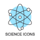 Science and Education Icons - GraphicRiver Item for Sale