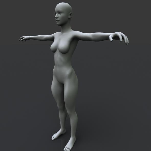 girl11 - 3DOcean Item for Sale