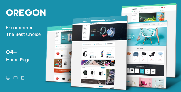 Oregon – Responsive Prestashop Theme