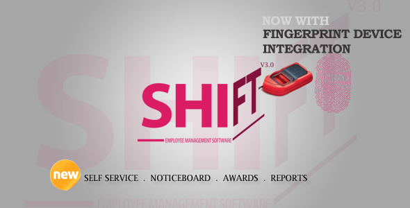 Shift Employee, Payroll, HR, Attendance, Leaves With Fingerprint Integration - CodeCanyon Item for Sale
