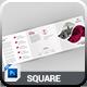 Square Tri-Fold - GraphicRiver Item for Sale