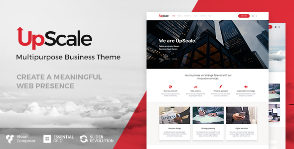 UpScale - Business Theme - Business Corporate