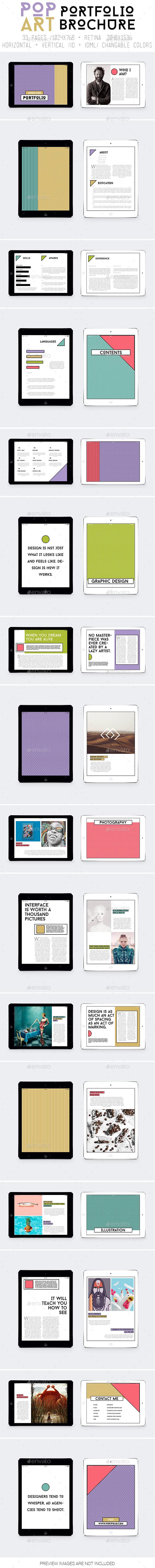 Ipad&Tablet Pop Art Portfolio - ePublishing