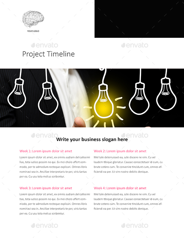 Web Design e-Proposal Template - US Letter