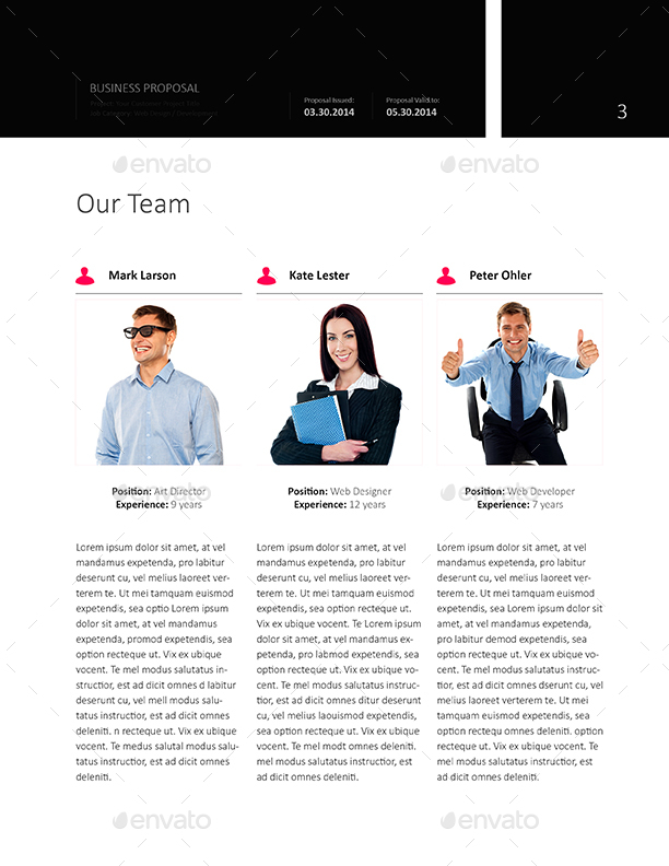 Web Design EProposal Template  Us Letter By Keboto  Graphicriver