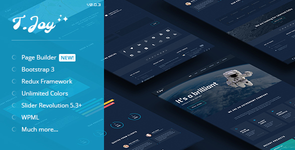 T.Joy - Astronomy WordPress Theme - Miscellaneous WordPress