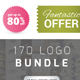170 Logos Bundle – Real Estate, Music, Letters & Restaurants - GraphicRiver Item for Sale
