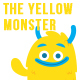 The Yellow Monster in 14 Poses - GraphicRiver Item for Sale