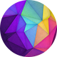 Colorful Polygon Backgrounds Vol.2 - GraphicRiver Item for Sale
