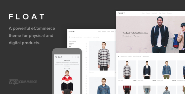 Float – Minimalist eCommerce Theme