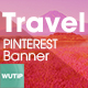 40 Pinterest Banner-Travel - GraphicRiver Item for Sale