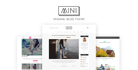MINI – Minimal Blog WordPress Theme