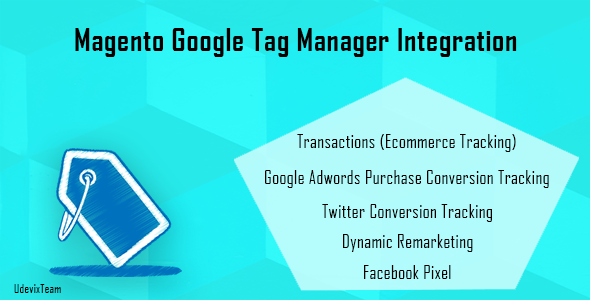 Magento Google Tag Manager Integration - CodeCanyon Item for Sale