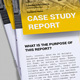 Case Study Report Template - GraphicRiver Item for Sale