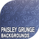 10 Paisley Grunge Backgrounds - GraphicRiver Item for Sale
