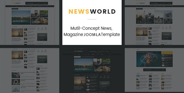 News World | News Magazine Joomla Template