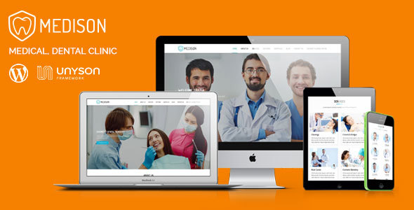 Medison – Medical, Dental Clinic WordPress Theme