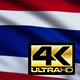 Flag 4K Thailand On Realistic Highly Detailed Fabric - VideoHive Item for Sale