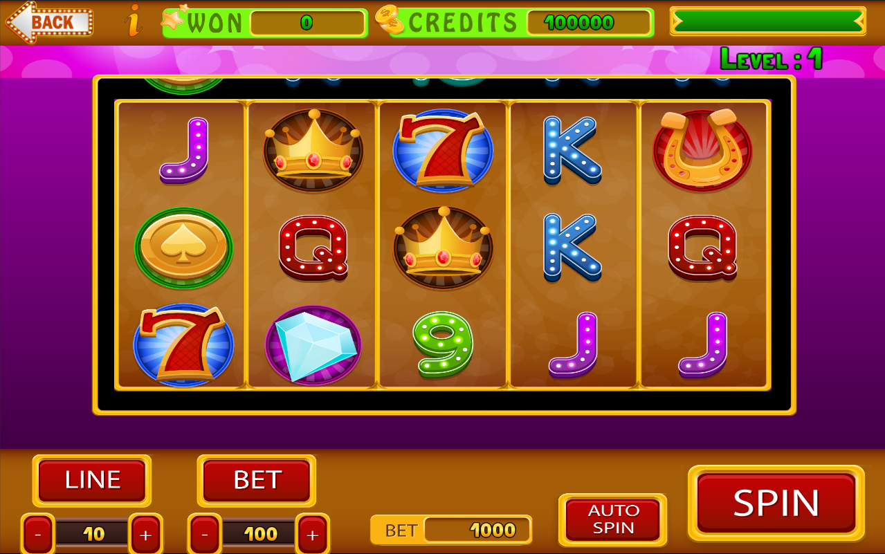 unity slot machine