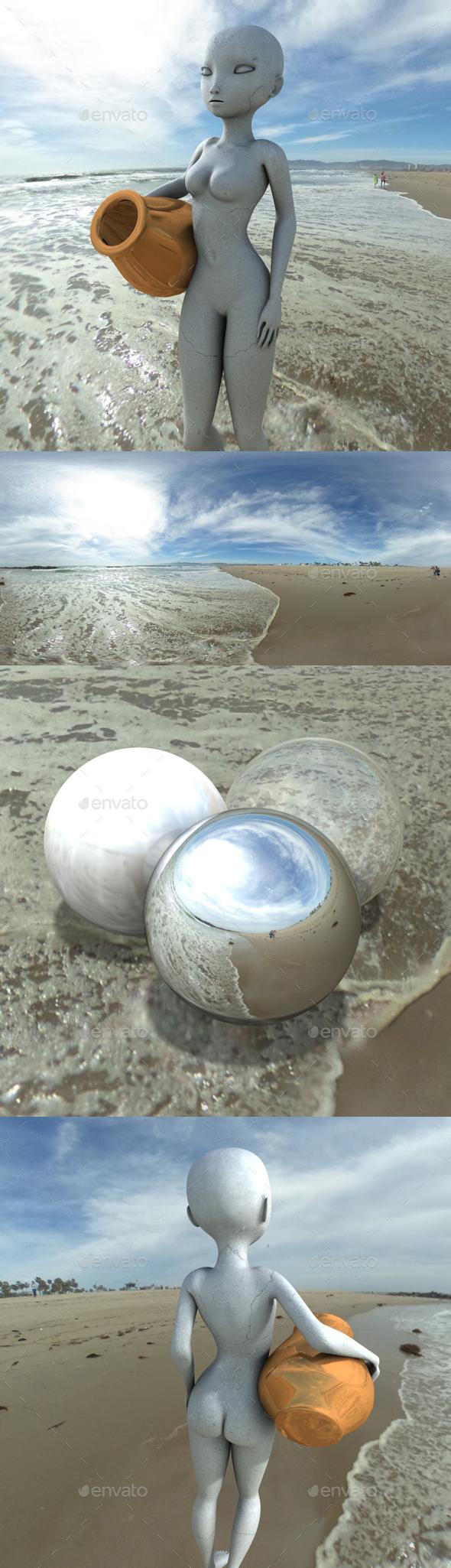 Shoreline Sunny Day HDRI - 3DOcean Item for Sale