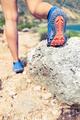 Hiking walking or running sports shoe sole