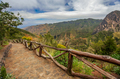 Landscape of La Gomera, Canary Islands, Spain