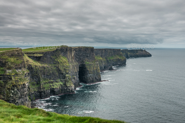 Cliffs of Moher - Stock Photo - Images