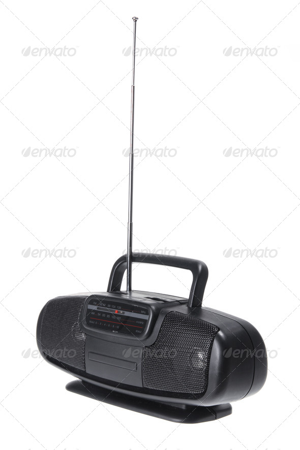 Portable Radio - Stock Photo - Images