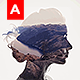 Animated Double Exposure Action - GraphicRiver Item for Sale