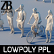 Lowpoly people - 3DOcean Item for Sale