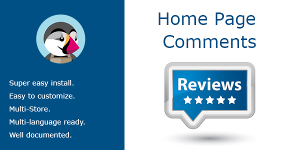 Home Page Comments - CodeCanyon Item for Sale