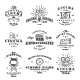 Set of Vintage Cinema Labels - GraphicRiver Item for Sale