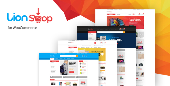 Lion - Responsive WooCommerce WordPress Theme