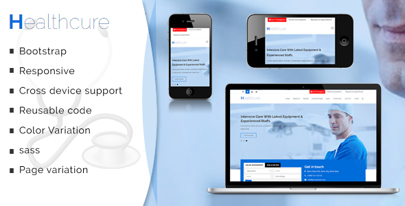 Healthcure – Medical and Health Multipurpose Template