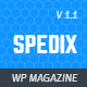 Spedix - Responsive WordPress News and Magazine Theme - ThemeForest Item for Sale