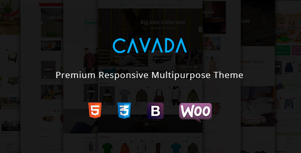 Cavada - Business Multipurpose WooCommerce WordPress Theme - WooCommerce eCommerce