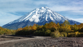 Autumn Panoramic Volcanic Landscape on Kamchatka Peninsula - PhotoDune Item for Sale