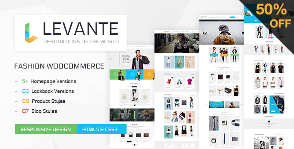 LEVANTE - Clean WooCommerce WordPress Theme - WooCommerce eCommerce