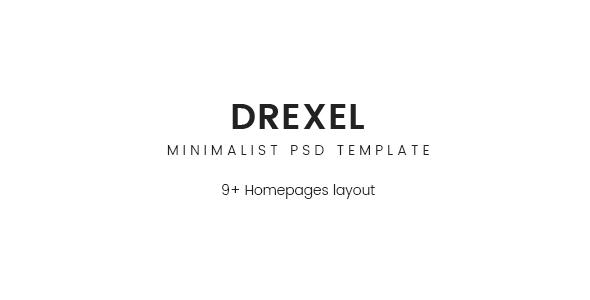 Drexel – PSD Ecommerce Templates