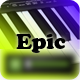 Epic Dubstep Drums Logo