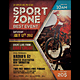 Sport Zone Event Flyer / Poster - GraphicRiver Item for Sale